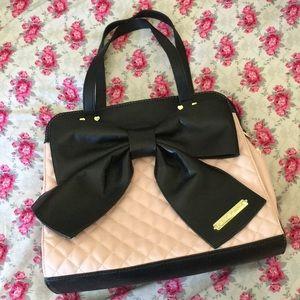 Betsey Johnson Tote Bag Purse